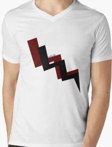 lightning bolt. Mens V-Neck T-Shirt