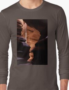 Shapes and The Light Beam Long Sleeve T-Shirt
