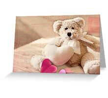 Valentine Bear Greeting Card
