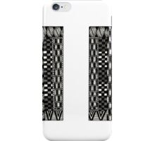 Letter I and Patterns iPhone Case/Skin