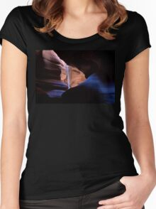 Blue River of Light Women's Fitted Scoop T-Shirt
