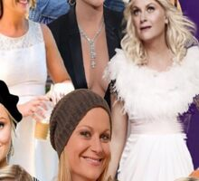 Amy Poehler Collage Sticker