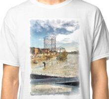 Rome: Tiber River gasometer and industrial archeology Classic T-Shirt