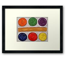 ABSTRACT 604 Framed Print
