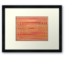 ABSTRACT 423 Framed Print
