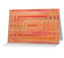 ABSTRACT 423 Greeting Card