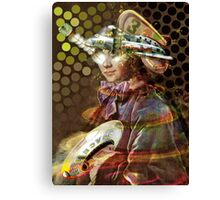 Space Pirate. Collaboration with Trena Canvas Print