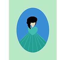 Simplistic Princess #3 Photographic Print