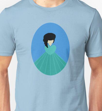 Simplistic Princess #3 Unisex T-Shirt