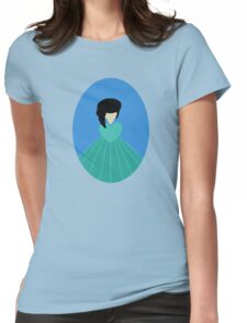 Simplistic Princess #3 Womens Fitted T-Shirt