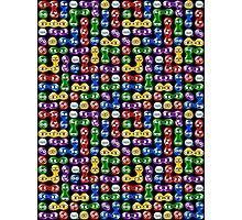 Puyo Puyo pattern v2 Photographic Print