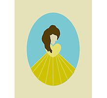 Simplistic Princess #4 Photographic Print