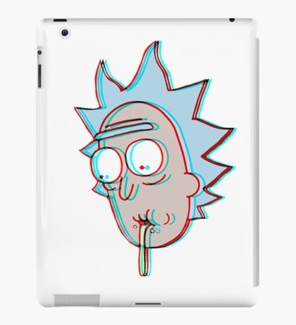 3D Dimension Rick Sanchez iPad Case/Skin