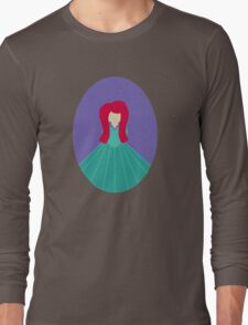 Simplistic Princess #5 Long Sleeve T-Shirt
