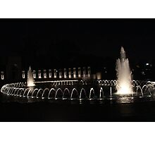 DC Fountains Photographic Print
