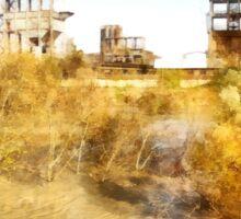 Rome: Tiber River industrial archeology Sticker