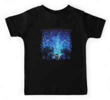 Lonely time travel phone box art painting Kids Tee
