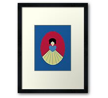 Simplistic Princess #6 Framed Print