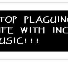 Papyrus Music Sticker