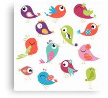 Tweets Canvas Print