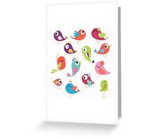 Tweets Greeting Card