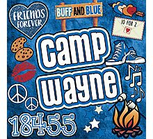 Camp Wayne Collage Photographic Print