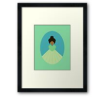 Simplistic Princess #9 Framed Print