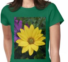 Vibrant Golden Daisy Womens Fitted T-Shirt