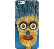 broom head iPhone Case/Skin