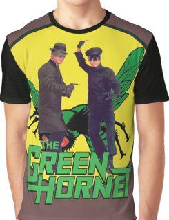 Funny Green Hornet Graphic T-Shirt