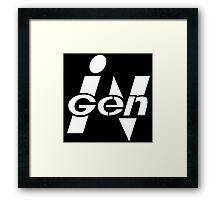 Spared no Expense - Sleek Corporate Logo Framed Print