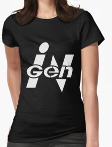 Spared no Expense - Sleek Corporate Logo Womens Fitted T-Shirt