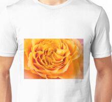 Curly Petals Of Beauty Unisex T-Shirt