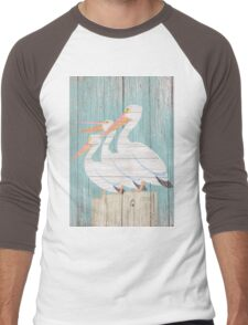 Pelican Wood Men's Baseball ¾ T-Shirt