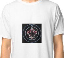 Winnipeg Jets Neon Classic T-Shirt