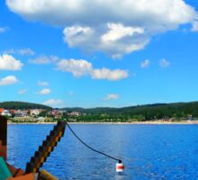 Minecraft: Fishing in reallife Sticker