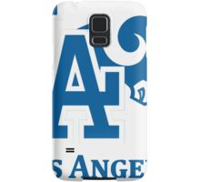 Los Angeles Dodgers Rams mash up Samsung Galaxy Case/Skin