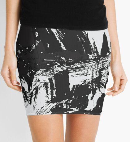 Brush Mini Skirt