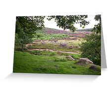 Sheffield Hills Greeting Card