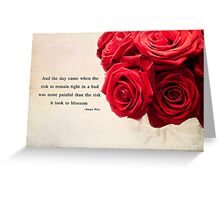 Time to Blossom Greeting Card