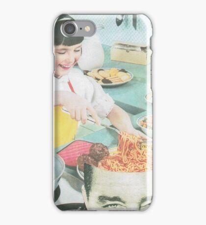 Dinner is served iPhone Case/Skin