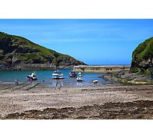 Port Issac, North Cornwall, United Kingdom Photographic Print