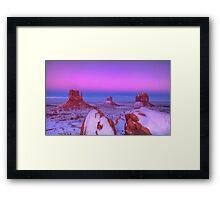 The Dusk Rider Framed Print
