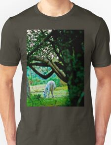 Grey in the woods Unisex T-Shirt