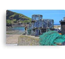 Lobster Catchers Canvas Print