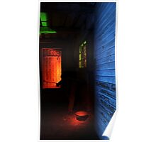 24.1.2016: Light Painted Cowshed Poster