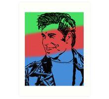 Color Travolta Art Print