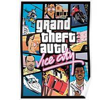 GTA - Vice City Poster