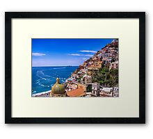 Love Of Poistano Italy Framed Print