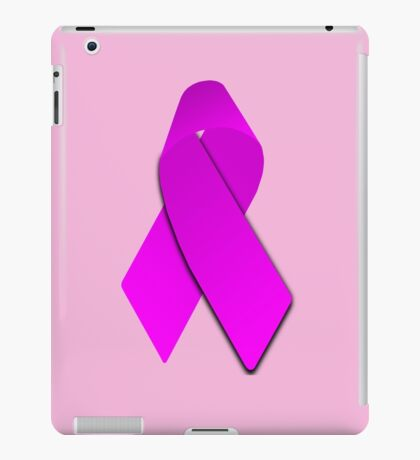 Pink Breast Cancer Ribbon iPad Case/Skin
